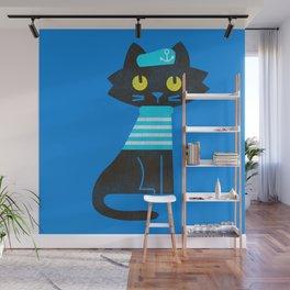 Fitz - Sailor cat Wall Mural
