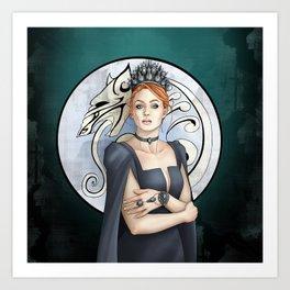 Northern Queen Art Print