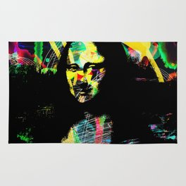 Mona Lisa POP ART PAINTING PRINT Rug