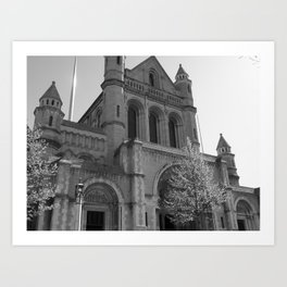 St. Anne's Cathedral, Belfast Art Print