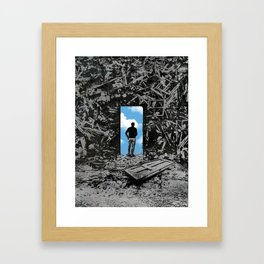 The Optimist Framed Art Print
