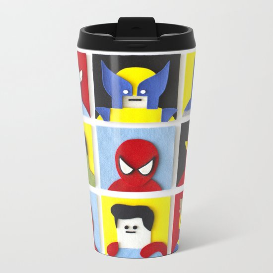 Felt Heroes Metal Travel Mug
