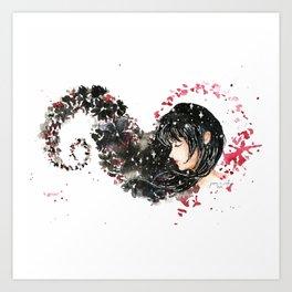 Mia Corvere Fan Art Art Print