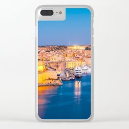 MALTA 12 Clear iPhone Case