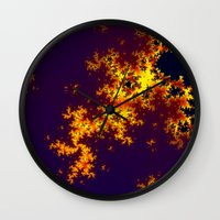 europe Wall Clocks featuring europe by donphil