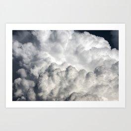 Cumulonimbus Clouds 10 Art Print