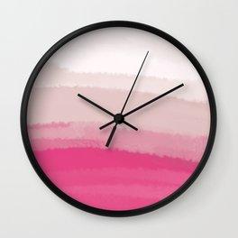 Sea - Line Clolor Pattern V11 Wall Clock