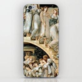 "Edward Burne-Jones ""The Golden Stairs"" iPhone Skin"