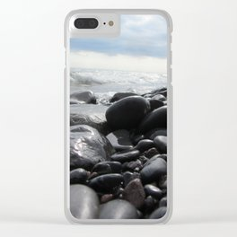 Lake Superior Clear iPhone Case