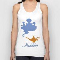 aladdin Tank Tops featuring Aladdin by Citron Vert