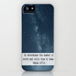 Counts the Stars iPhone Case