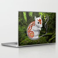 mouse Laptop & iPad Skins featuring Mouse by Knot Your World