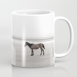 Horse a la playa Coffee Mug