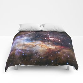 Hubble's 25Th Anniversary  Comforters