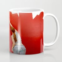 redhead Mugs featuring Redhead by Twilight Productions