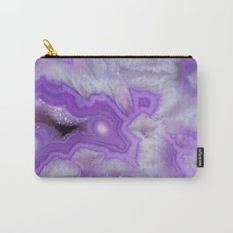 Wild Amethyst Stone Carry-All Pouch