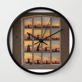 Maw's Mill Wall Clock