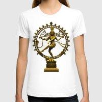 shiva T-shirts featuring Shiva Nataraja by Alice9