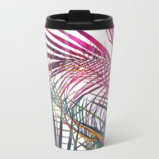 The jungle vol 1 Metal Travel Mug