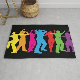People Dancing Rug