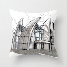 Jubilee Church Throw Pillow