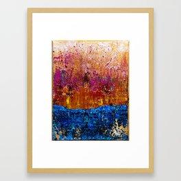 Sun will Never set for you (left side) Framed Art Print