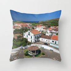 Azorean parish Throw Pillow