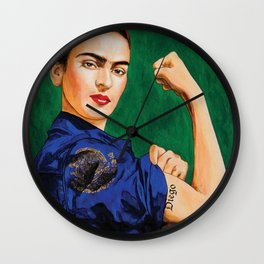 Frida Strong Wall Clock