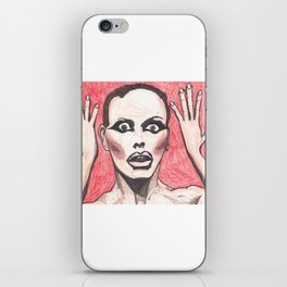 """Alyssa Edwards; """"She was the one backstabbing me behind my back!"""" iPhone Skin"""