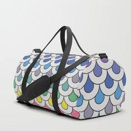 Art deco scales pattern Duffle Bag