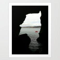Sea Cave Art Print
