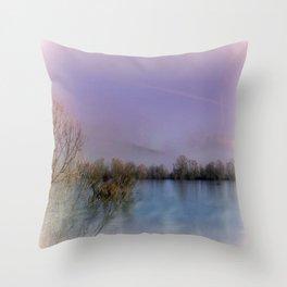 Lakeside Impression Throw Pillow