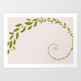 Sweaty Leaves Art Print