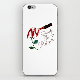 BeautyIsAReligion `Rose Lippy` iPhone Skin