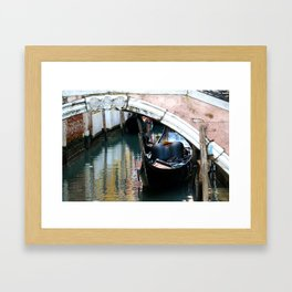 Gondola Framed Art Print