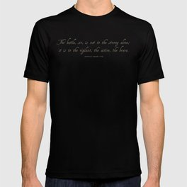The Battle by Patrick Henry T-shirt