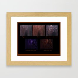 Getting There (Focusing On the Totality of a Situation) Framed Art Print
