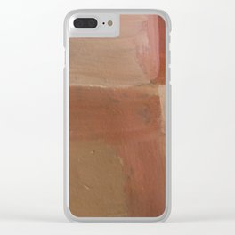 Colourful Chaos X Clear iPhone Case