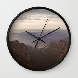 Grand Canyon View from Saddle Mountain Wall Clock