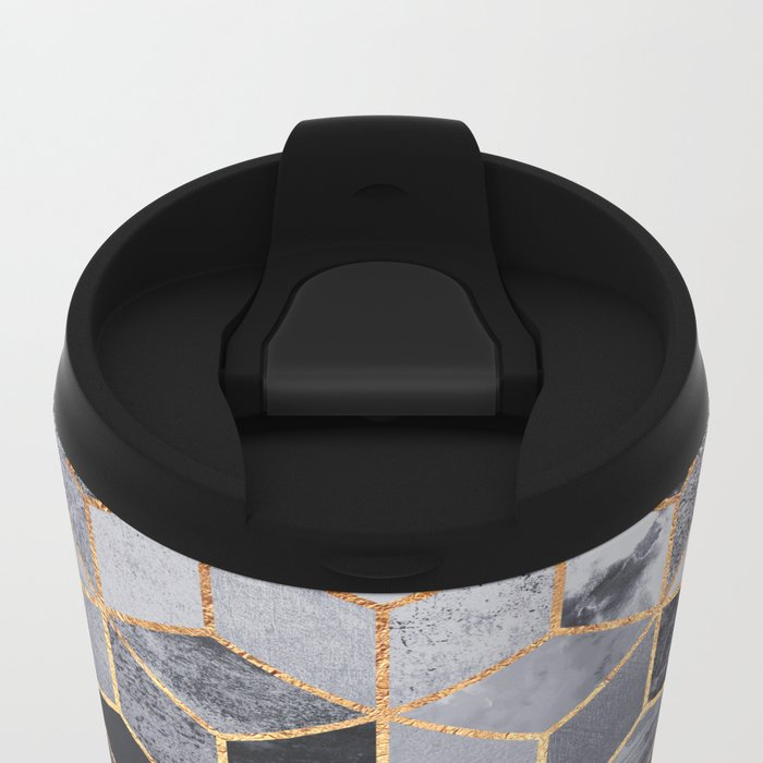 Don't quit your daydream Metal Travel Mug