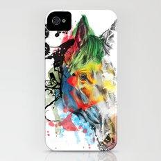 horse portrait  iPhone (4, 4s) Slim Case