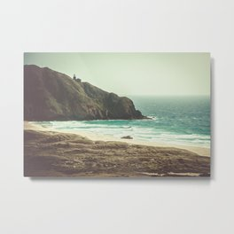 Point Sur Lightstation Metal Print