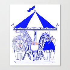 Carroussel Canvas Print