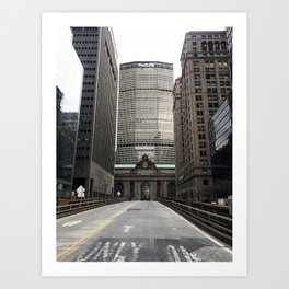 Grand Central Station, Park Avenue, New York City Art Print