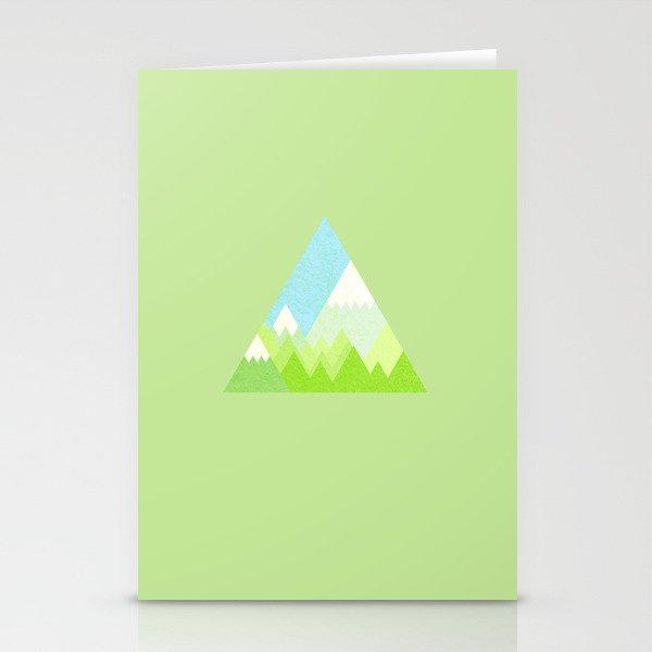 national park geometric pattern Stationery Cards