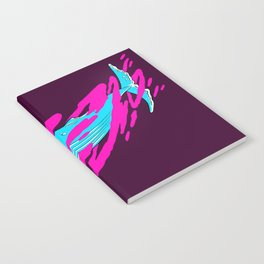 Trippy Whale Notebook