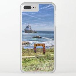 Sutro Baths, Ocean View Clear iPhone Case