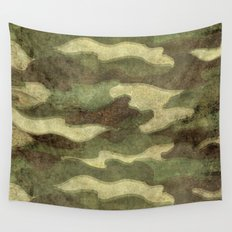 Dirty Camo Wall Tapestry