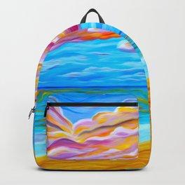 Pāʻia Bay Sunrise Backpack