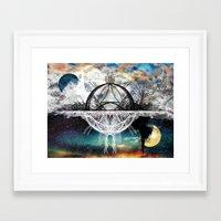 discount Framed Art Prints featuring TwoWorldsofDesign by J.Lauren